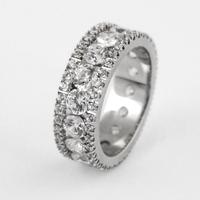 Обручальное кольцо с бриллиантом купить