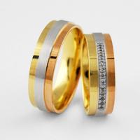 ecfdec42c474 Обручальные кольца из комбинированного золото купить при помощи нашего  интернет магазина сможет каждый.